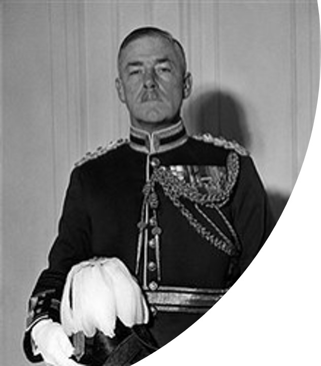 Lieutenant General Sir Frank Mason-MacFarlane Commander of 'Macforce'